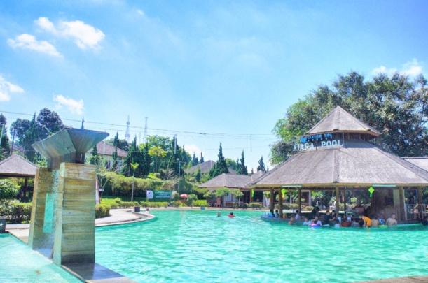 Hot springs and healing at Ciater Spa Resort